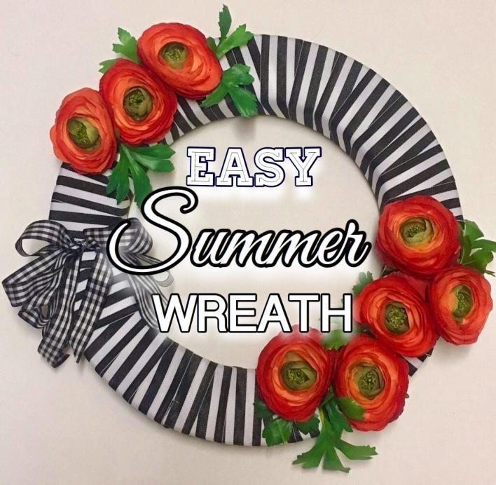 Easy Summer Wreath